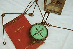 Compass and chain